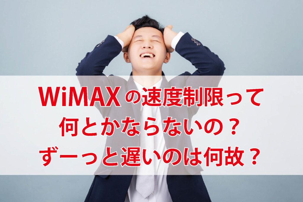 制限 解除 Wimax